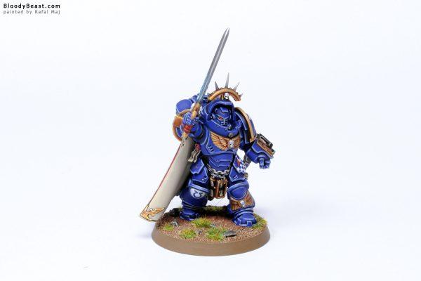 Dark Imperium Ultramarines Primaris Captain in Gravis Armour 1