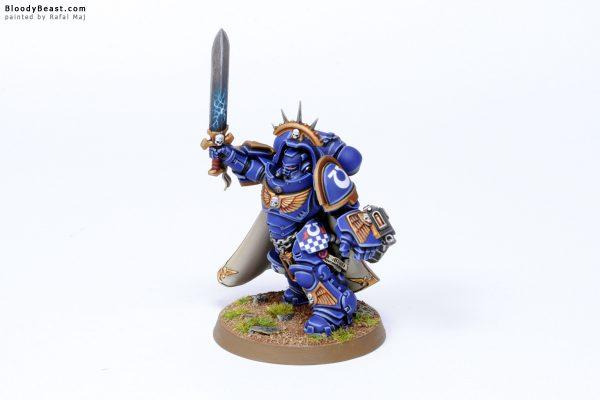 Dark Imperium Ultramarines Primaris Captain in Gravis Armour 3