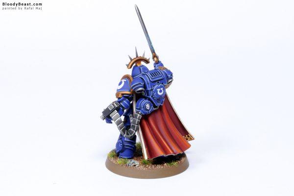 Dark Imperium Ultramarines Primaris Captain in Gravis Armour 4