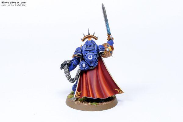 Dark Imperium Ultramarines Primaris Captain in Gravis Armour 5