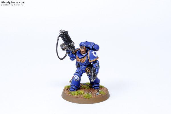 Dark Imperium Ultramarines Primaris Lieutenant Two