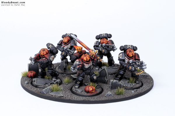 Legion of a Damned Pumpkin Primaris Intercessors 1