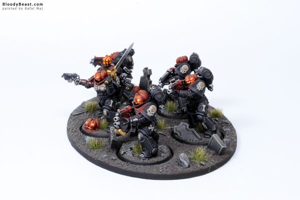 Legion of a Damned Pumpkin Primaris Intercessors 2