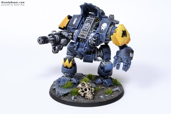 Tooth and Claw Space Wolves Primaris Redemptor Dreadnought 9