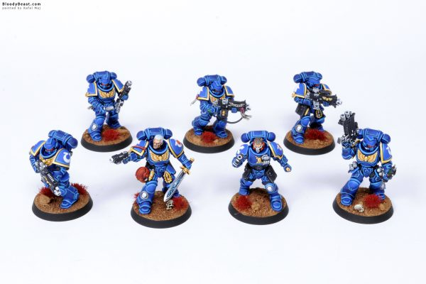 Kill Team Ultramarines Primaris Marines