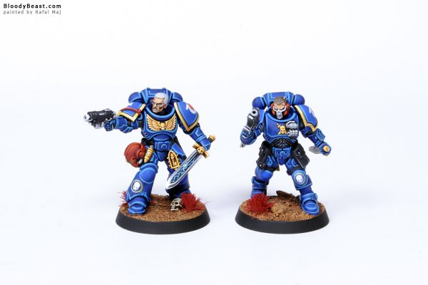 Kill Team Ultramarines Primaris Marines Sergeants 1