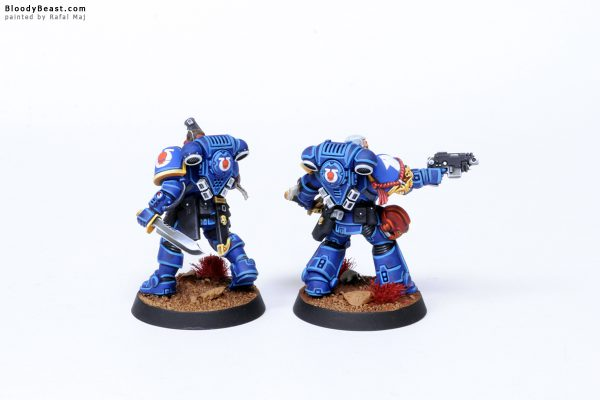 Kill Team Ultramarines Primaris Marines Sergeants 2