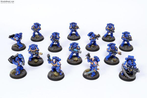 Adeptus Astartes Ultramarines Tactical Squad Kill Team