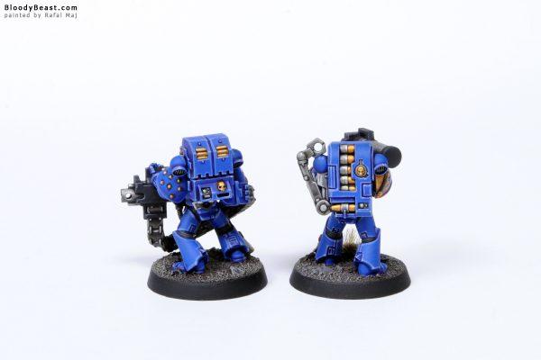 Adeptus Astartes Ultramarines Tactical Squad Kill Team Heavies 2