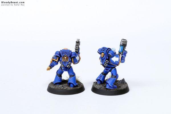 Adeptus Astartes Ultramarines Tactical Squad Kill Team Sergeants 2