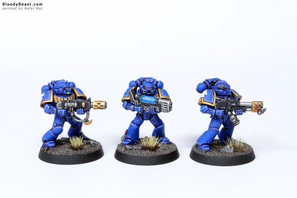 Adeptus Astartes Ultramarines Tactical Squad Kill Team Specialists 1