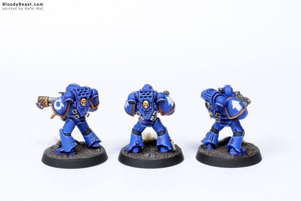 Adeptus Astartes Ultramarines Tactical Squad Kill Team Specialists 2