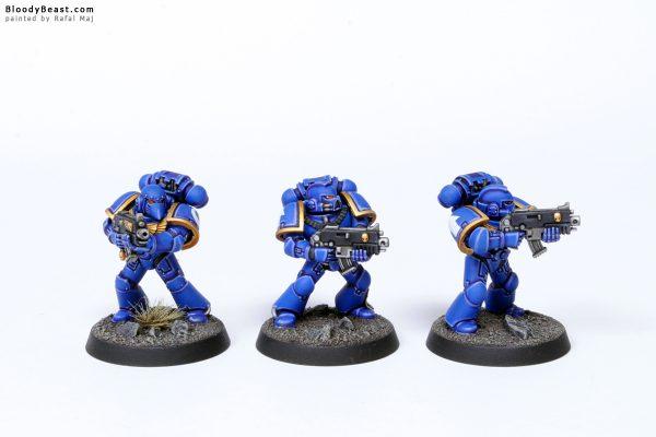 Adeptus Astartes Ultramarines Tactical Squad Kill Team Troopers 1