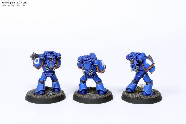 Adeptus Astartes Ultramarines Tactical Squad Kill TeamTroopers 2