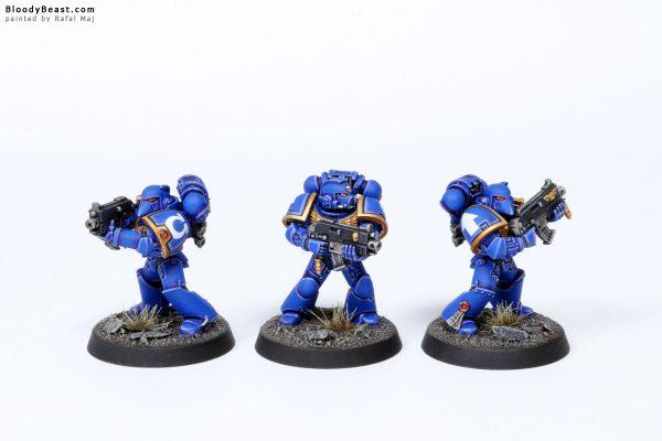 Adeptus Astartes Ultramarines Tactical Squad Kill Team Troopers 3
